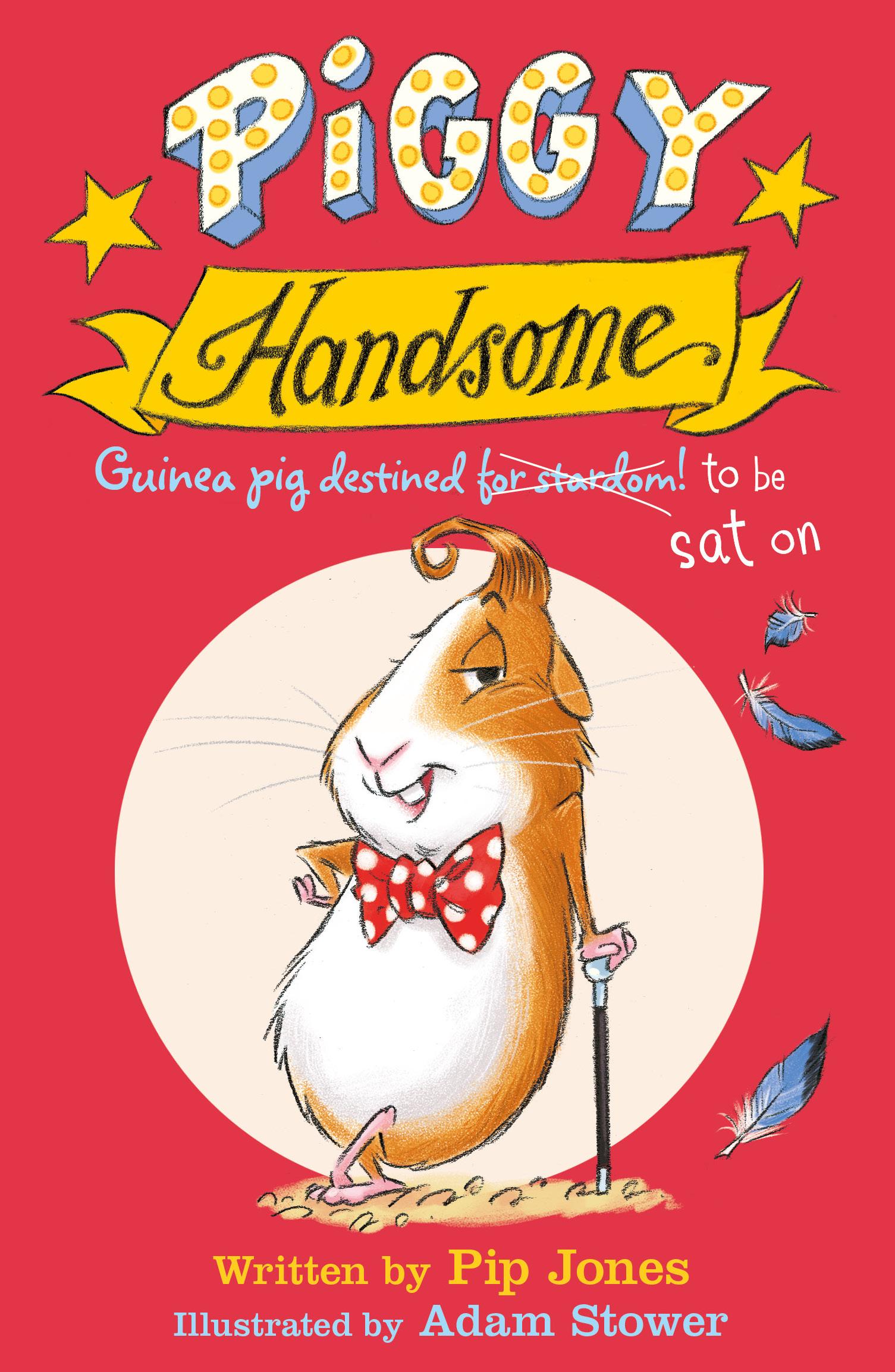 Piggy Handsome: Guinea Pig Destined for Stardom