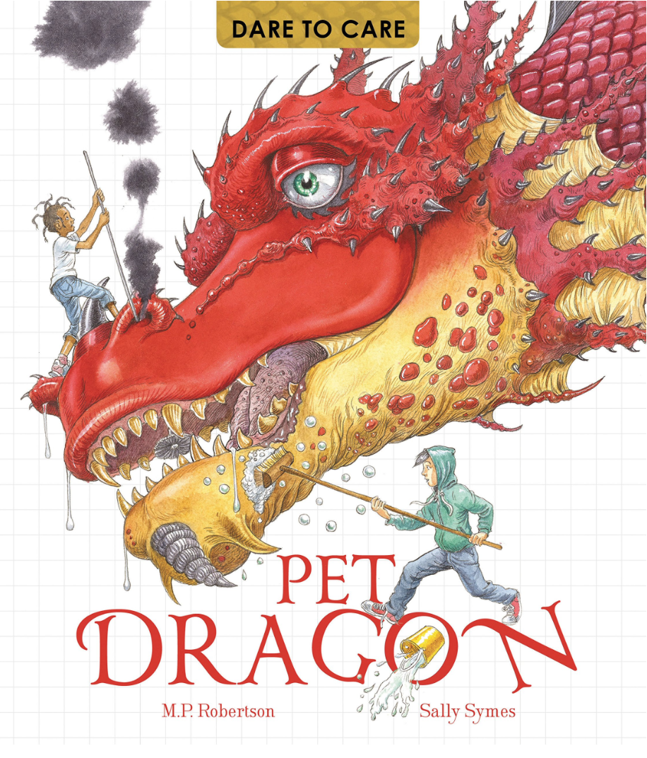 DARE TO CARE FOR A PET DRAGON