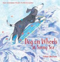 Dog on Wheels at Sunny Sea