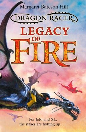 Legacy of Fire: Book 2 Dragon Racer series