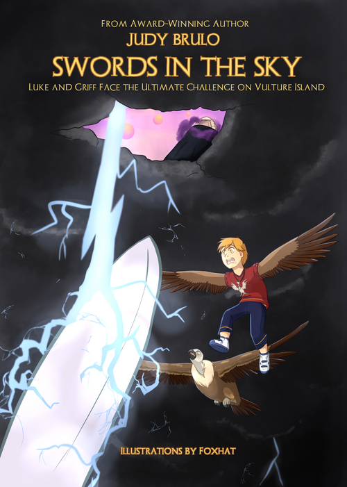 Swords in the Sky (pub. Brulo Books 2020)