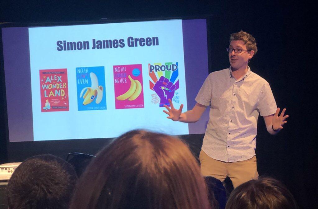 Simon James Green - first image